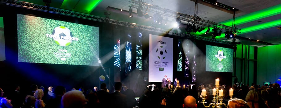 North West Football Awards, The Point, Emirates Old Trafford